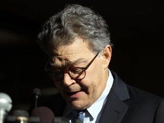 Franken loses support of many Democrat senators