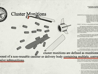 100 nations banned cluster bombs; why won't US?