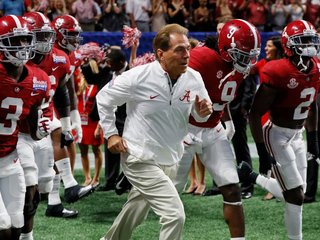 Group urges Alabama voters to choose Nick Saban