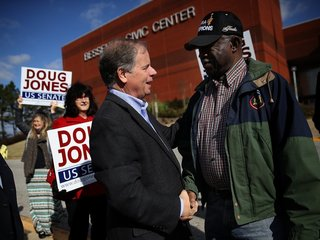 Black voters usher in a Doug Jones victory