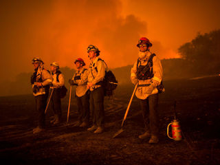 California wildfires to worsen with winds today
