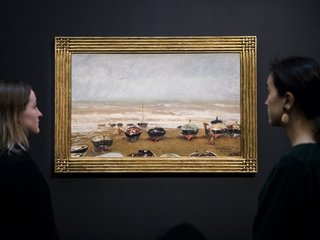 How does art become a good investment?