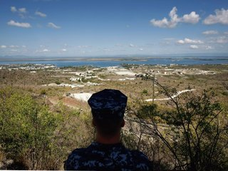 US Defense Secretary Jim Mattis Visits...