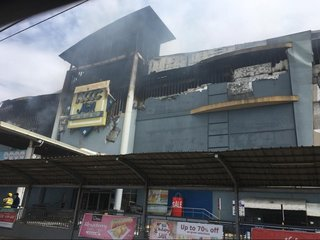 At least 36 trapped after Philippine mall fire