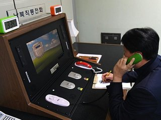 North Korea reopens hotline with South Korea
