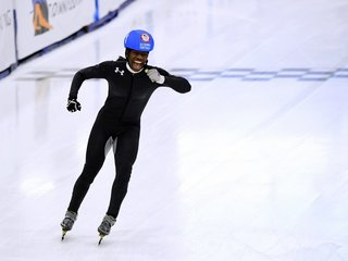 First black woman joins US Olympic speedskating