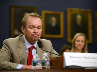 Mulvaney asks for $0 in funding for the CFPB