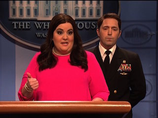 SNL mocks President Trump's physical exam