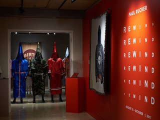 Artist Paul Rucker creates KKK robes for exhibit