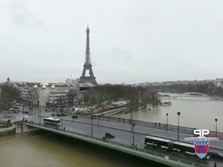 Paris is partially underwater from river floods