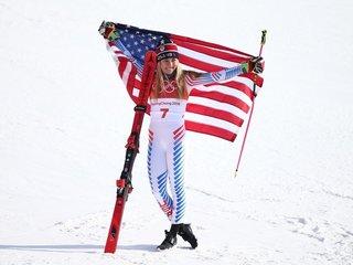 US skier Mikaela Shiffrin wins Olympic gold