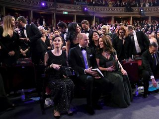 Kate Middleton wore green dress to BAFTAs