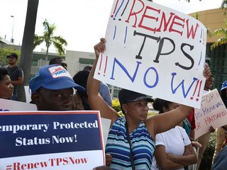 Immigrants sue Trump to block TPS termination