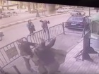 Officer catches boy who falls from balcony