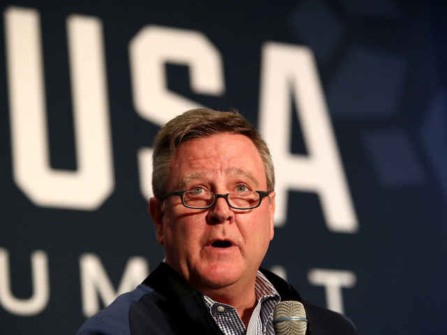 United States Olympic Committee Chief Executive Scott Blackmun steps down