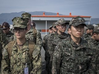 Joint Military Drills Between The US And...