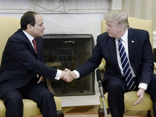 Trump congratulates Egypt's president on win