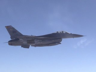 Air Force F-16 crashes in Nevada