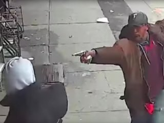 NYPD releases video of black man before shooting