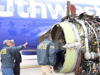 NTSB finds missing part of Southwest plane