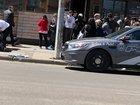 Van strikes pedestrians near busy Toronto street