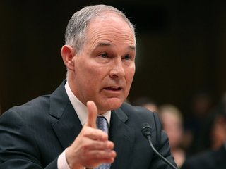 Pruitt confirmed he has a legal defense fund