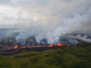 One man injured in Hawaii's volcano eruption
