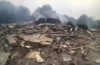 Bodycam shows officers digging through rubble