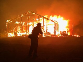 California battles several wildfires
