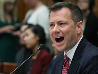Strzok hearing gets heated after first question