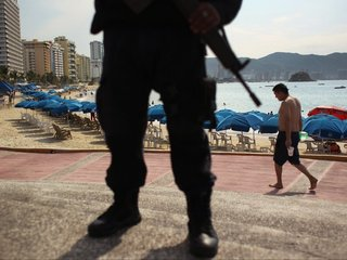 Entire Acapulco police force disarmed
