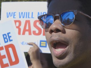 Trans rights protesters rally at the White House