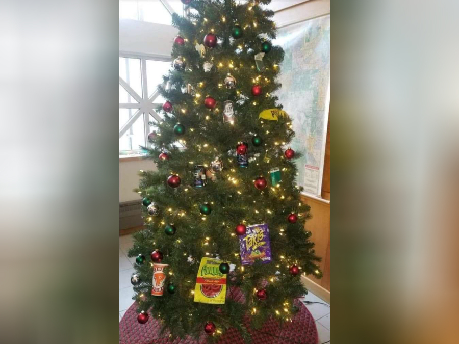 Two Minneapolis officers put on leave after decorating precinct with ...